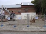 Digital Photograph: Earthquake Damage to Lyttelton Historical Museum, Gladstone Quay, Lyttelton