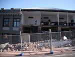 Digital Photograph: Earthquake Damage to Canterbury Hotel and shops. Oxford Street, Lyttelton