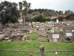 Digital Photograph: Earthquake Damage to Lyttelton Roman Catholic and Dissenters Cemeteries, Reserve Terrace, Lyttelton