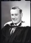 Film negative: Mr Clarke, graduate