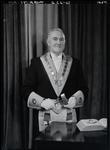 Film negative: Mr Sterritt, in lodge regalia