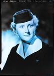 Film negative: Miss Logie, air hostess