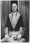 Film negative: Masonic Lodge member