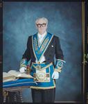 Negative: Unnamed Man Provincial Grand Master