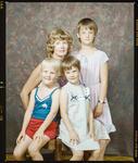 Negative: Mrs Robbins and Children