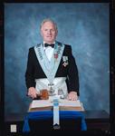 Negative: Jim Simpson, Freemason Portrait
