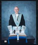 Negative: Mr Milligan Freemason Portrait