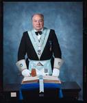 Negative: Mr Forsyth Freemason Portrait
