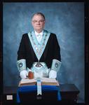 Negative: Mr White Freemason Portrait