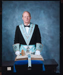 Negative: Mr McAllister Freemason Portrait