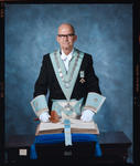 Negative: Unnamed Man Freemason Portrait
