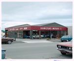 Negative: Hamilton's Motors Building Exterior