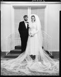 Film negative: Nash and Penniket wedding, bride and groom