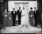 Film negative: Nash and Penniket wedding, party of seven