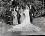 Film negative: Neal wedding, party of six