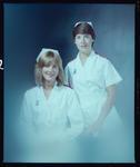 Negative: Miss Janine Mason and Unnamed Woman Nurse Portrait
