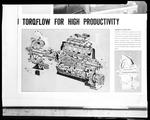 Film negative: International Harvester Company: components from a Komatsu tractor