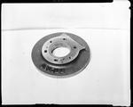 Film negative: International Harvester Company: damaged grader parts