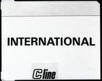 "Film negative: International Harvester Company: logo ""International Cline"""