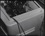 Film negative: International Harvester Company: reservoirs on forward control truck