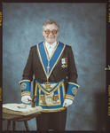 Negative: Unnamed Man Provincial Masonic Lodge