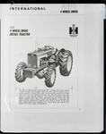 Film negative: International Harvester Company: International McCormick 4wd diesel 634 tractor