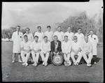 Film negative: Christchurch Working Men's Club? cricket team