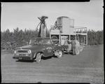 Film negative: International Harvester Company: Briggs Brothers truck and machine