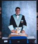 Negative: Harold Thomson, Freemason Portrait