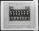 Film negative: New Zealand Rugby League Team, World Cup Series, 1954