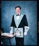 Negative: John Stebbings Freemason Portrait