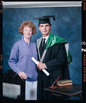 Negative: Andrew Washington Graduate and Unnamed Woman
