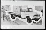 Film negative: International Harvester Company: c-line truck being loaded