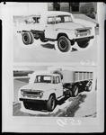 Film negative: International Harvester Company: c-line truck chassis