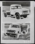 Film negative: International Harvester Company: c-line tip-truck chassis