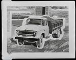 Film negative: International Harvester Company: c-line tip-truck