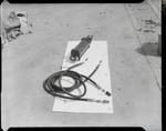 Film negative: International Harvester Company: hydraulic ram and hose