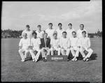 Film negative: Inter-district cricket, Burnham team