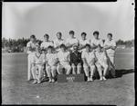 Film negative: Burnham Inter-service cricket teams, Navy