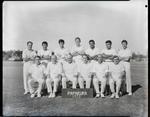 Film negative: Burnham Inter-camp cricket teams, Papakura