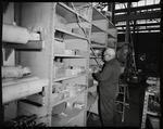 Film negative: International Harvester Company: Hough loader parts