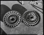 Film negative: International Harvester Company: damaged torque converter