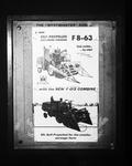 Film negative: International Harvester Company: one in a series of slide copies of various combine harvesters