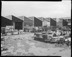 Film negative: International Harvester Company: equipment in yard
