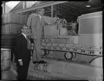 Film negative: International Harvester Company: Colonel Scott visit