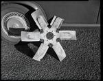 Film negative: International Harvester Company: damaged part, truck fan