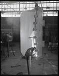 Film negative: International Harvester Company: welding bay