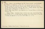 Macdonald Dictionary Record: William Barry