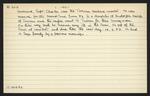 Macdonald Dictionary Record: Charles Bascand