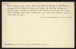 Macdonald Dictionary Record: Henry Beal